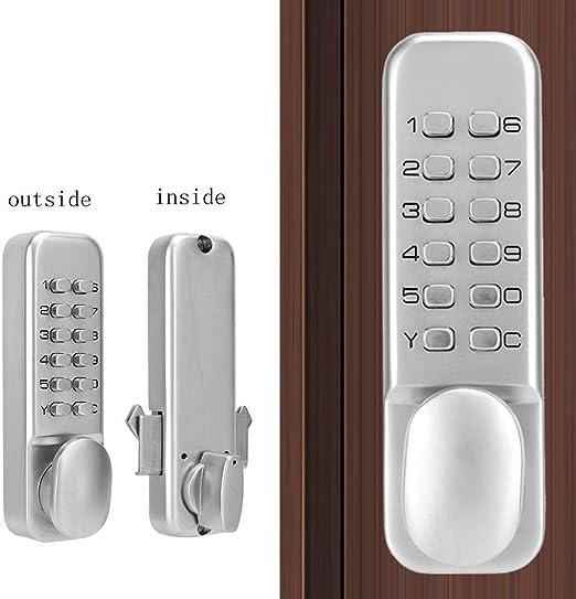 Kafuty Claves de Contraseña de Cerradura Digital Mecánica, para ...