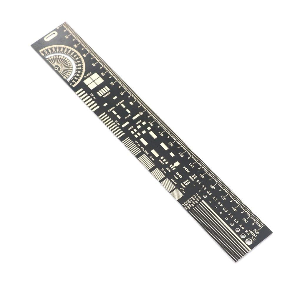 LEZDPP 20cm Engineering Ruler Packaging Unit Electronic Engineer Required Protractor Digital Angle Ruler by LEZDPP