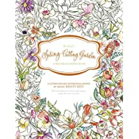 Kristy's Spring Cutting Garden: A Watercoloring Book