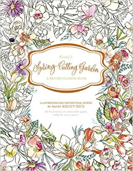 Amazon.com: Kristy\'s Spring Cutting Garden: A Watercoloring Book ...