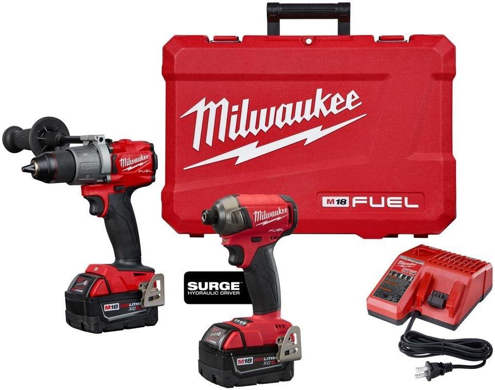 Milwaukee M18 FUEL 18 V Kit marteau perforateur Impact 2997-22 2999-22 étui dur seulement