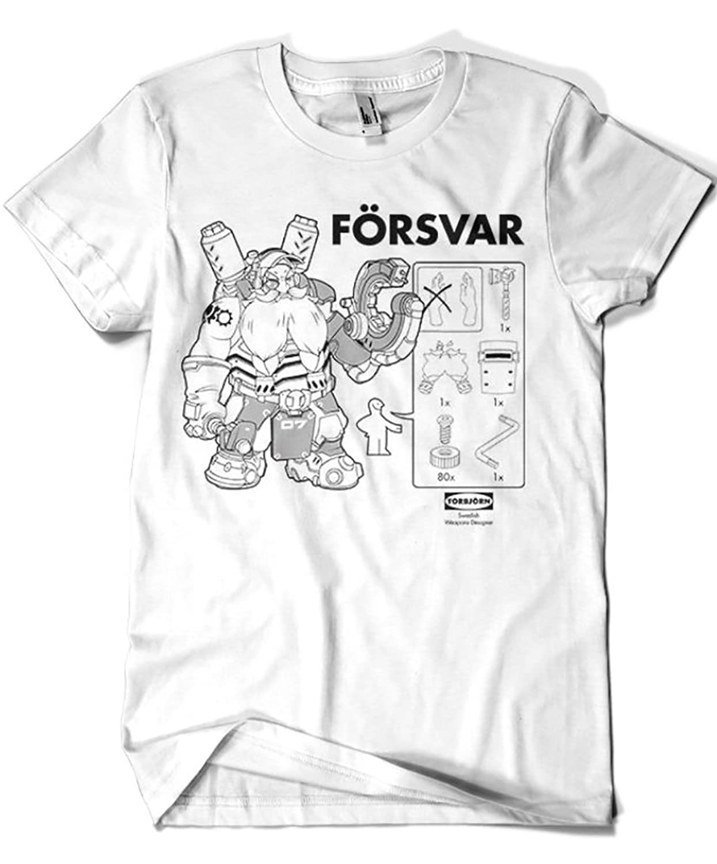 2422-Camiseta Swedish Weapons Designer (Olipop)