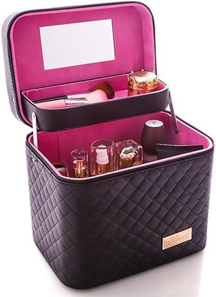 Bolsa de aseo de viaje multifunción portátil mujer Oxford organizador de gran capacidad bolsa de belleza