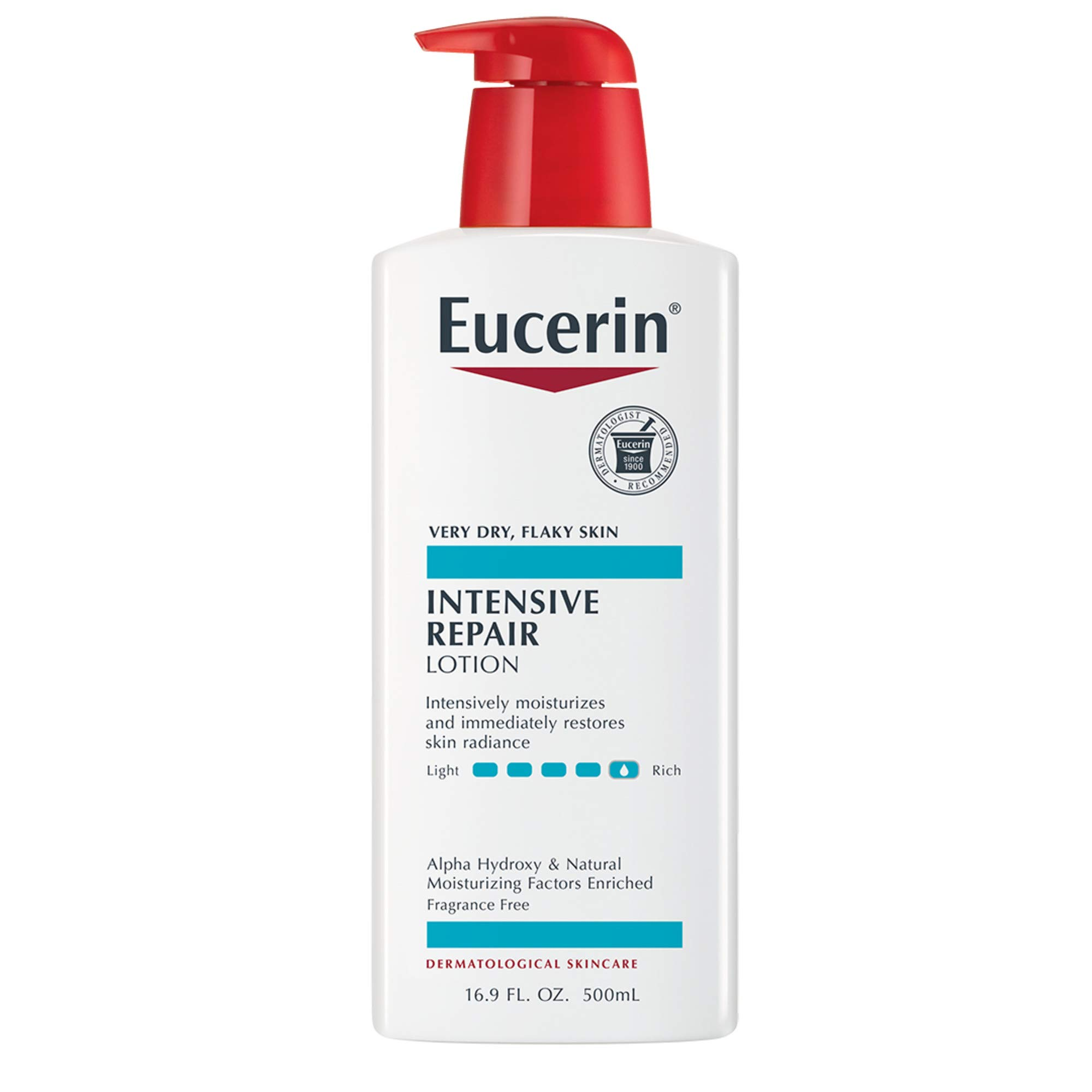 Amazon.com : Eucerin Intensive Repair Enriched Lotion 16.90 oz : Body  Lotions : Beauty