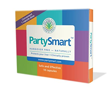 Himalaya PartySmart Extracto de Hígado - Pack de 3 x 24 Tabletas - Total: 72