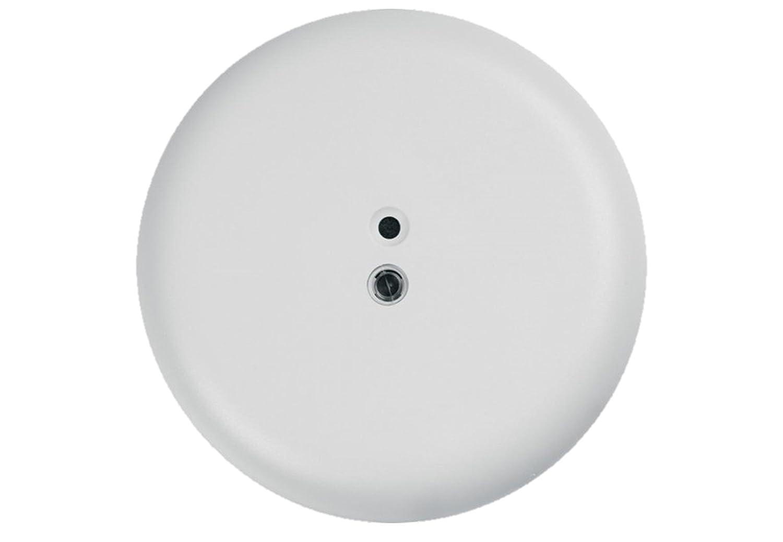 Glasbruchsensor akustisch für Aufputzmontage 360° für Alarmanlagen, runde Bauform