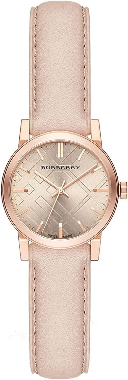 Burberry el Ciudad de la Mujer Reloj Oro Rosa BU9210