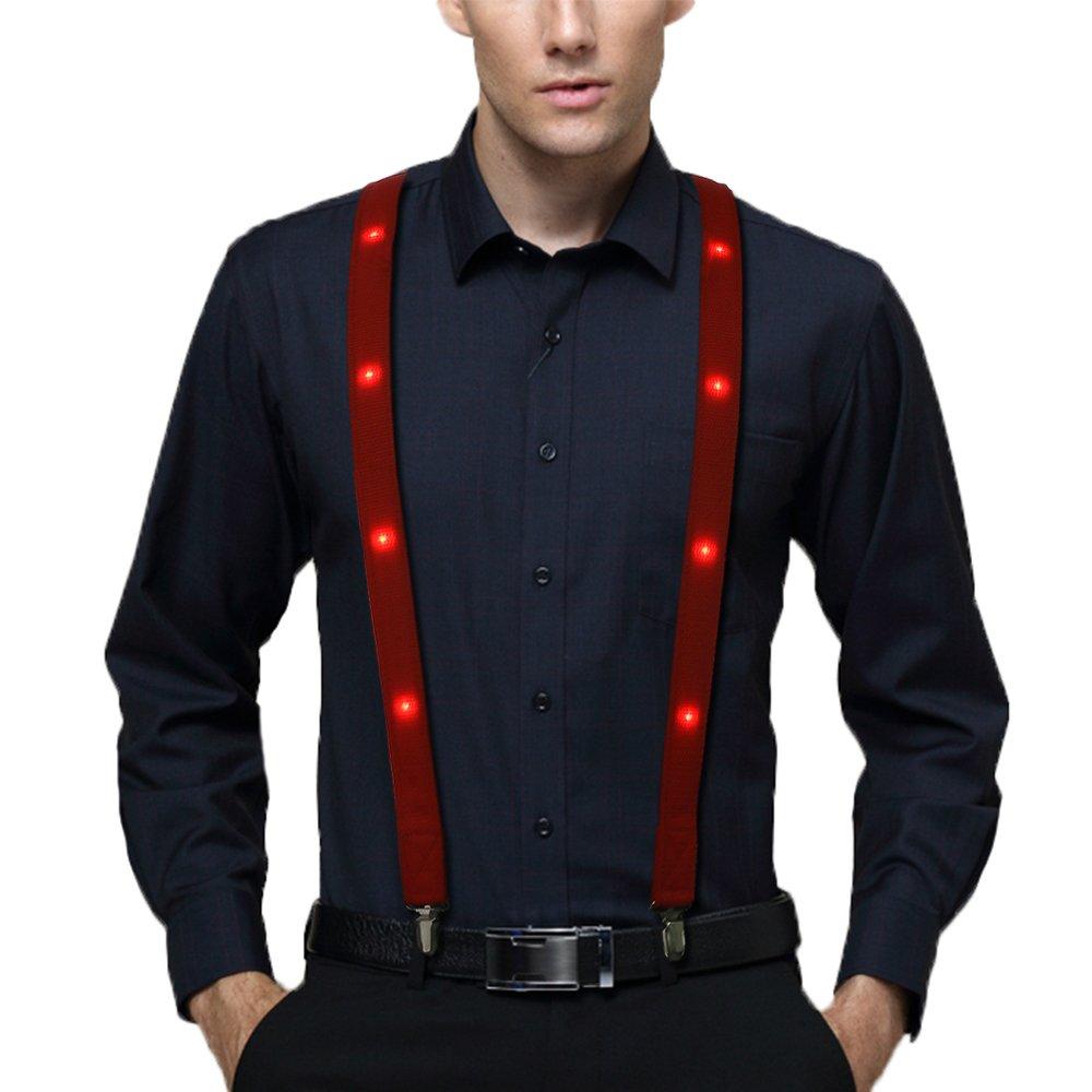 Led Suspender,Light Up Suspender
