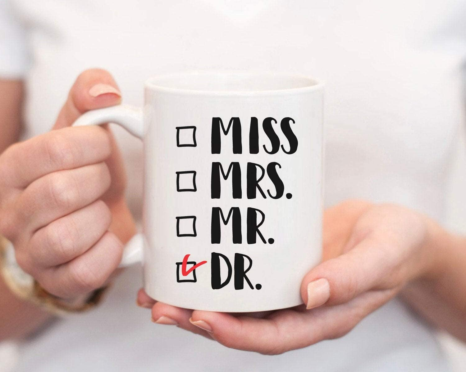 Amazon.com: Miss, Mrs, Mr, Dr - Doctor Gift, Funny Doctor Gifts for Women, Doctor Gift For Her, Woman Doctor, Funny Doctor Mug, Gift For Doctor: Kitchen & Dining