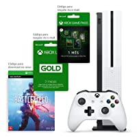 Xbox One S 1TB Battlefield com Kit Exclusivo Amazon