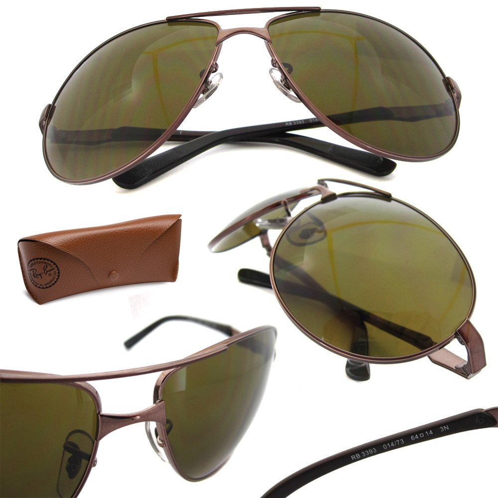 ddc06a072d Amazon.com  Ray-ban Rb3393 Sunglasses 014 73 64  Clothing