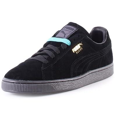 online store 14593 7de7d Amazon.com: PUMA Suede Classic+ Mono ICED Leather Sneaker ...