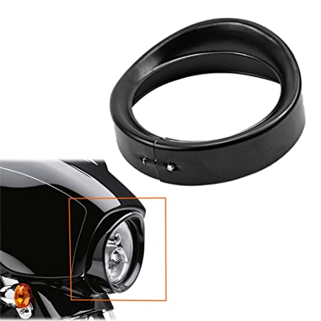Frames & Fittings Motorcycle 3 Large Gauge Bezel Trim Ring For Harley Davidson Street Electra Glide Classic Flh Flhx 1996-2013 12 11 10 Moderate Price