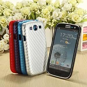 MaxSale Carbon Fiber Weave Pattern Hard Case For Samsung i9300 Galaxy S3