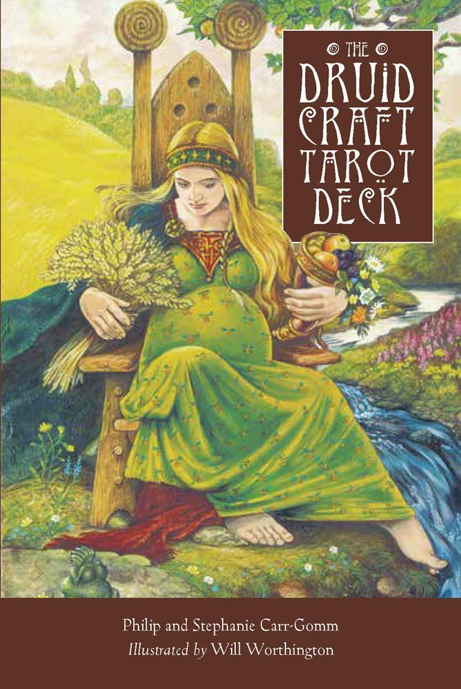 The DruidCraft Tarot: Deck and Pocket Book : Using the Magic of Wicca and  Druidry to Guide Your Life : Carr-Gomm, Philip, Carr-Gomm, Stephanie,  Worthington, Will: Amazon.in: Books