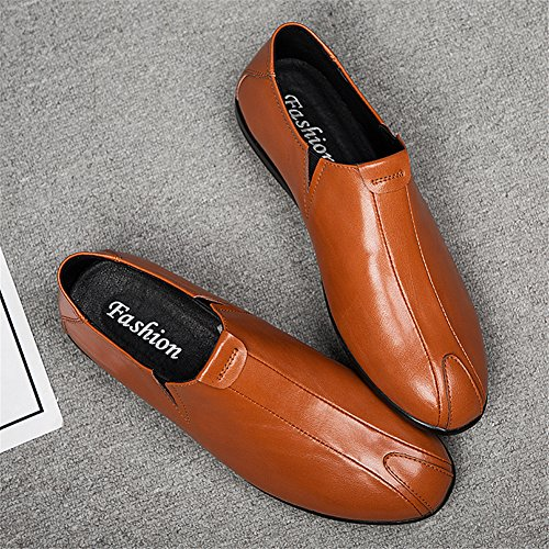 Uomo Oxford Eleganti Scarpe da Classico Marrone Marrone Comode Scarpe Pelle Moderno in UgCqtnwaR