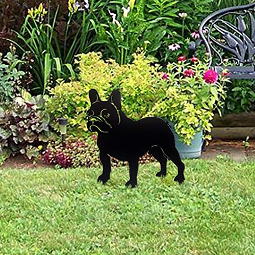 french bulldog garden statue - 8