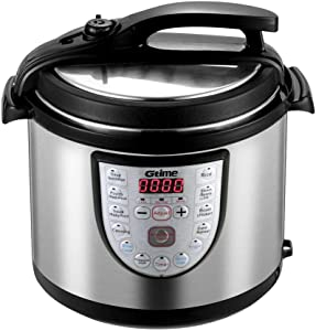Electric Pressure Cooker 6 Qt Slow Cook Programmable 18 Kinds of Cooking Option with Stainless Steel Inner Pot,Sous Vide,Rice Cooker,Egg Cooker,Hot Pot,Baking,Cake,Steamer,Yogurt,Scouring Pad,24-Hour Delay Timer and Keep Warm