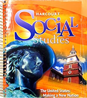 Harcourt social studies teacher edition grade 3 our communities the united states making a new nation teachers edition fandeluxe Gallery