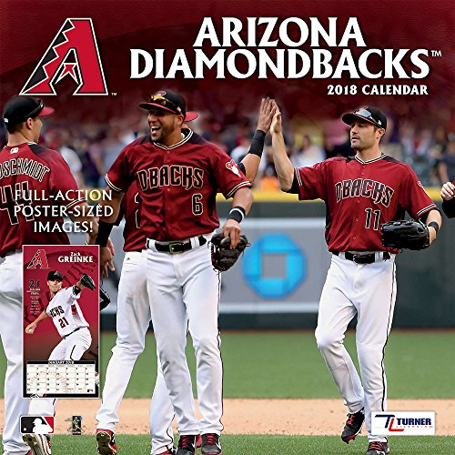 Arizona Diamondbacks 2018 Calendar