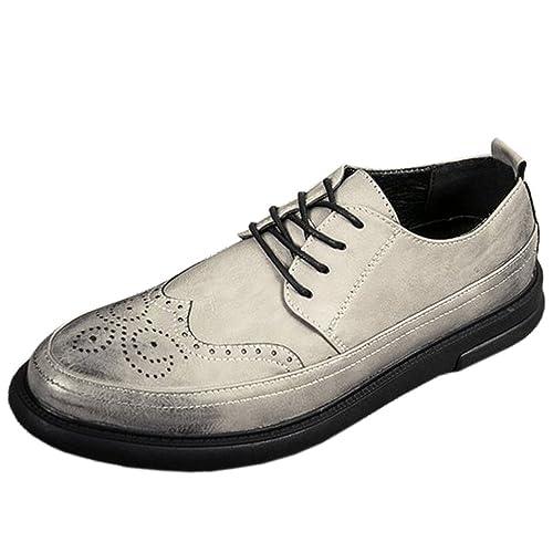 RAZAMAZA Zapatillas Casual con Cordones para Hombre: Amazon.es: Zapatos y complementos