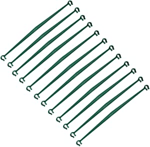 Tingyuan 12 pcs Stake Arms for Tomato Cage,12.8 Inches Expandable Trellis Connectors for Any 11mm Diameter Plant Stakes