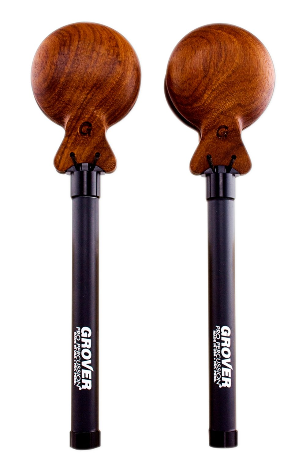 Grover Pro Granadillo Adjustable Tension Castanets (Pair) Large
