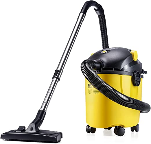 Puppyoo, aspirador WP808 de agua y polvo, sin bolsa, sopla aire ...