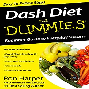 Dash Diet for Dummies Audiobook