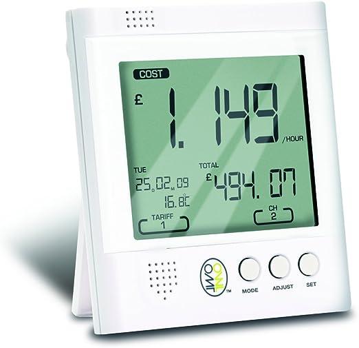 GEO MINIM Energia Monitor-Auto-Installazione-Sensore a LED per i moderni.