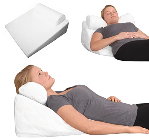 Almohada ortopédica viscoelástica reflujo almohada negro ...