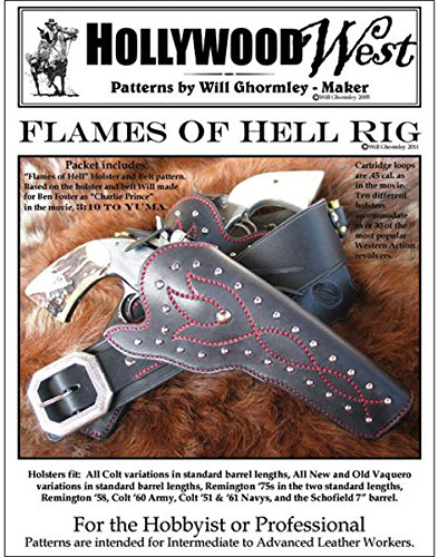 - Will Ghormley Flames of Hell Holster & Gun Belt Pattern Pack