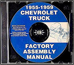 1955 1956 1957 1958 1959 CHEVROLET TRUCK ASSEMBLY PARTS