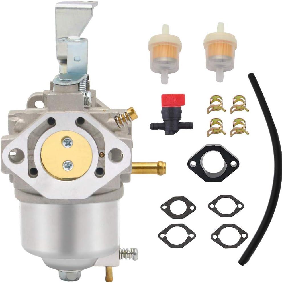 715670 Carburetor Compatible with Briggs and Stratton 185432 Carburetor 185432-0271-E1 BS-715670 FSC30-0107 715442 715312 715670 B1715670 185437 Series Engine Lawn Mower Carburetor