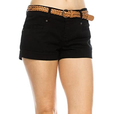 A.S Womens Cargo Style Belted Shorts