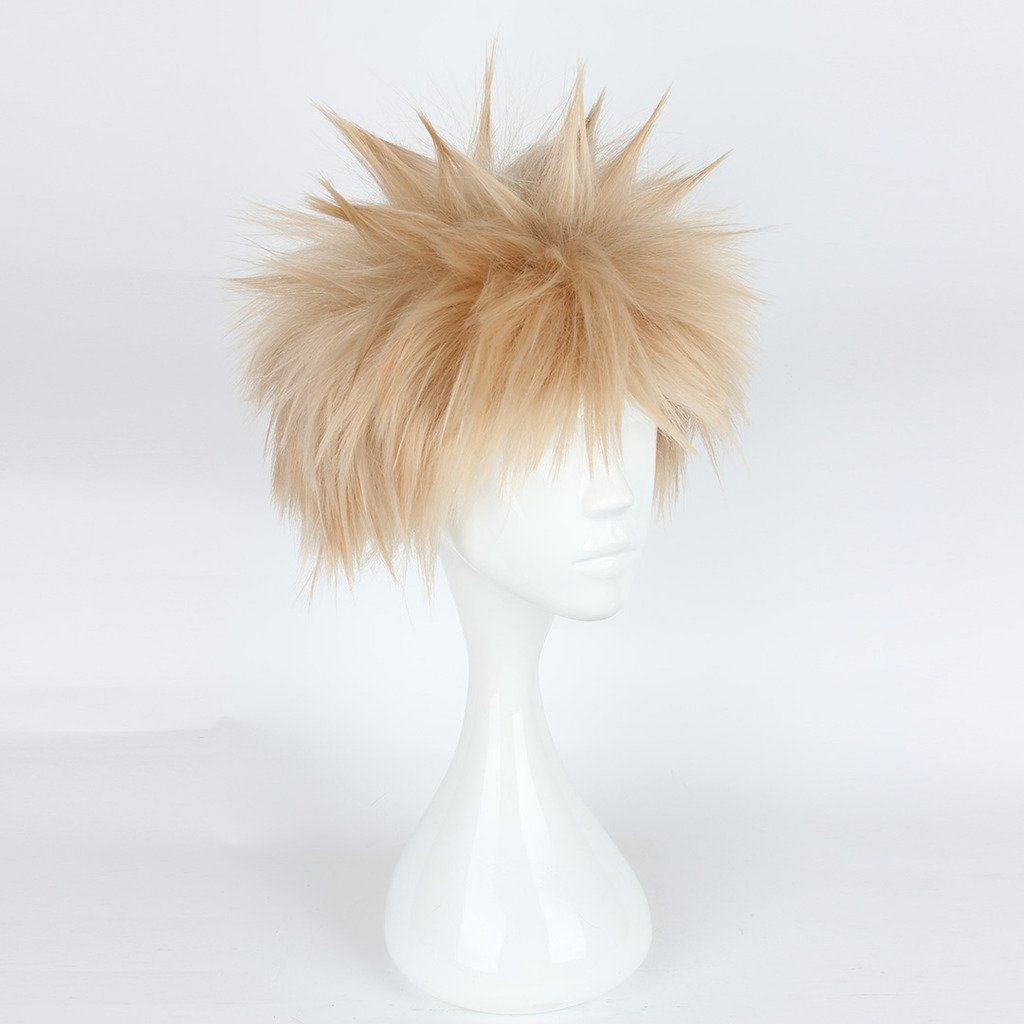 Amazon.com: springcos Boku no Hero Academia Cosplay Wig Katsuki Bakugou: Beauty