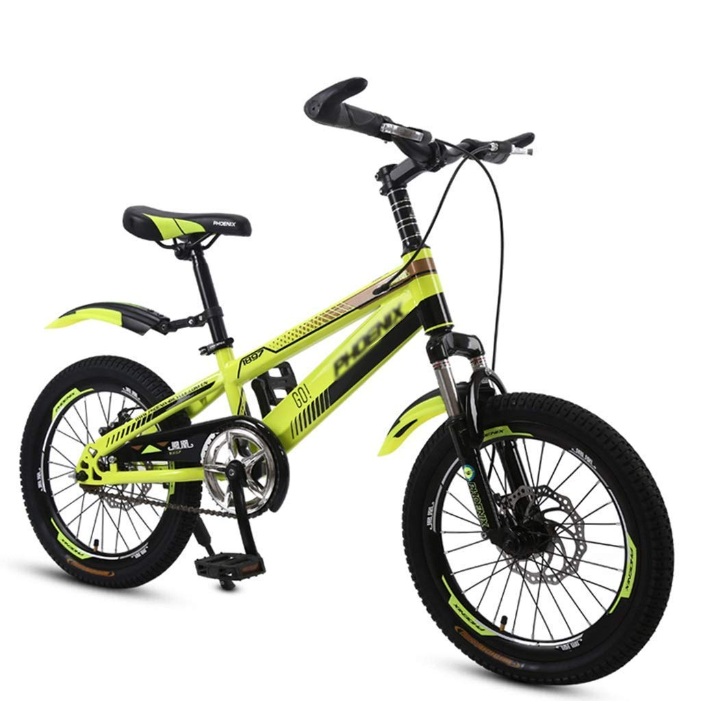 B Bicicleta para niños Bicicleta de 18 20 Pulgadas Escuela Primaria Bicicleta para niños Viajes para jóvenes Senderismo Bicicleta 18inches