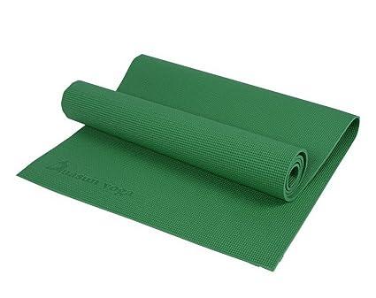 Amazon.com : Eco Yoga Mat PVC Cheap Yoga Mat 6mm Exercise ...