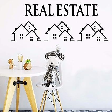 Amazon Com Llhllh 3d Real Estate Wall Stickers Home Decor