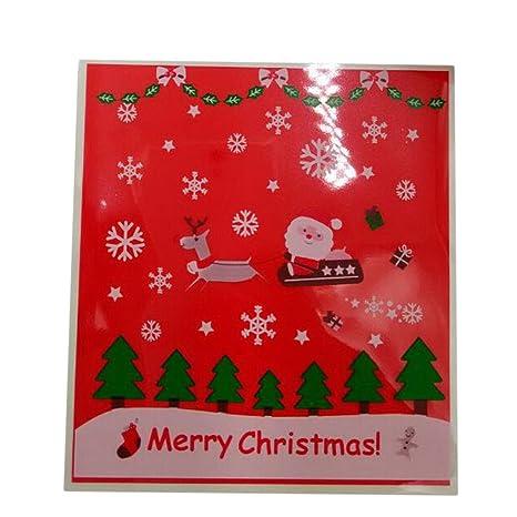 Gespout Navidad Bolsas Regalo Caramelo Cookies Bolsas de ...