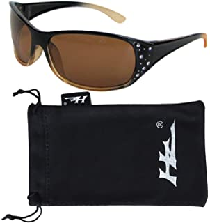 Hornz HZ Serie Elettra – Gafas de sol polarizadas para mujer