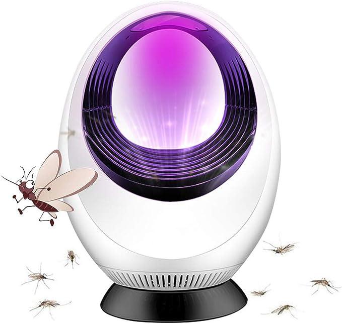 PINPOXE ámpara de Mosquitos, Asesino de Mosquitos, Lámpara Anti Mosquitos, Lámpara de Asesino del Mosquito, Sin ruido, sin contaminación, LED Asesino de Mosquitos para dormitorio/ficina/hogar: Amazon.es: Jardín