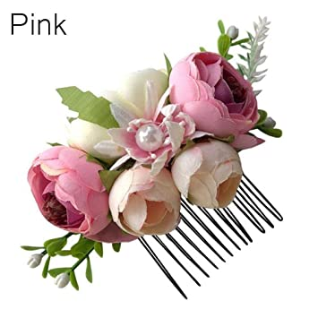 Amazon.com: Horquillas para el pelo con diseño de flores ...