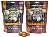 Blue Buffalo Wilderness Rocky Mountain Recipe Dog Treat Variety Pack – 2 Flavors (Red Meat Recipe & Bison Recipe), 8-Ounces Each (2 Total Pouches) For Sale
