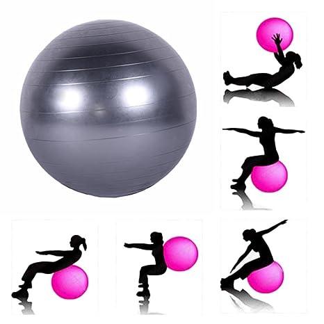 Feiledi - Balón Suizo antiquemaduras, para Ejercicio, Fitness ...