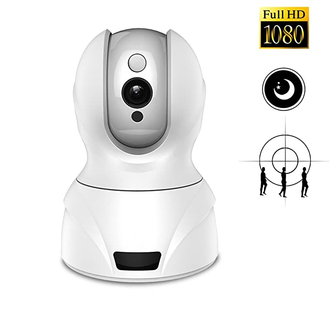 1 opinioni per MARVUE Surveillance Cameras 1080p HD Dome Cameras Indoor Home Monitoring System