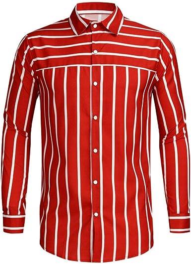 Wodechenshan Camisas Casual para Hombre,Camisa De Hombre De ...