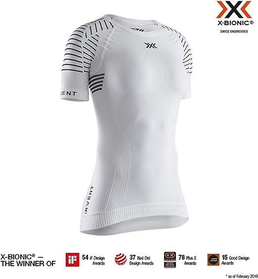 X-Bionic M/C Invent Round Neck - Camiseta Mujer: Amazon.es: Ropa y ...