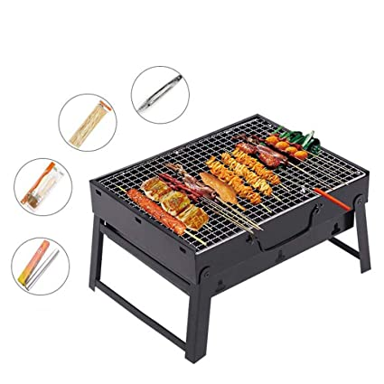 Amazon.com: PINGUINO - Parrilla plegable para barbacoa de ...