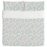Feminine And Masculine Duvet Bed Set 3 Piece Set Duvet Cover - 2 Pillow Shams - Luxury Microfiber, Soft, Breathable